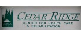 Cedar Ridge Rehab