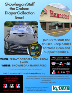 Stuff the Cruiser: Diaper Collection Event